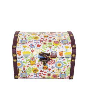 maleta-modelo-bau-estampada-com-estampas-de-corujafloral-e-chocolate