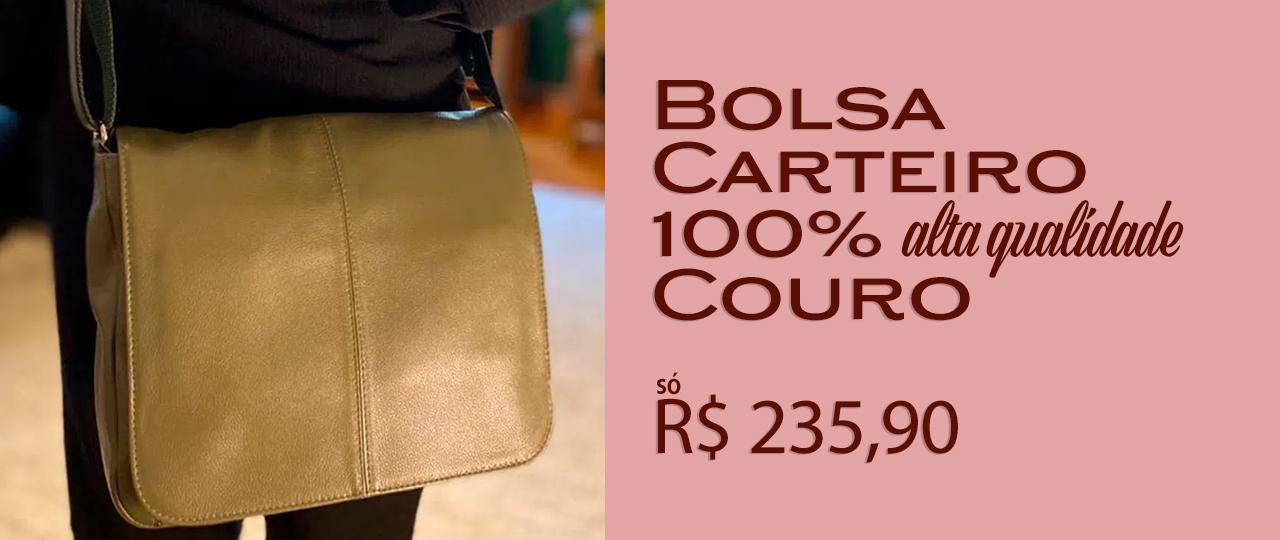 Bolsa de Couro Transversal -200338