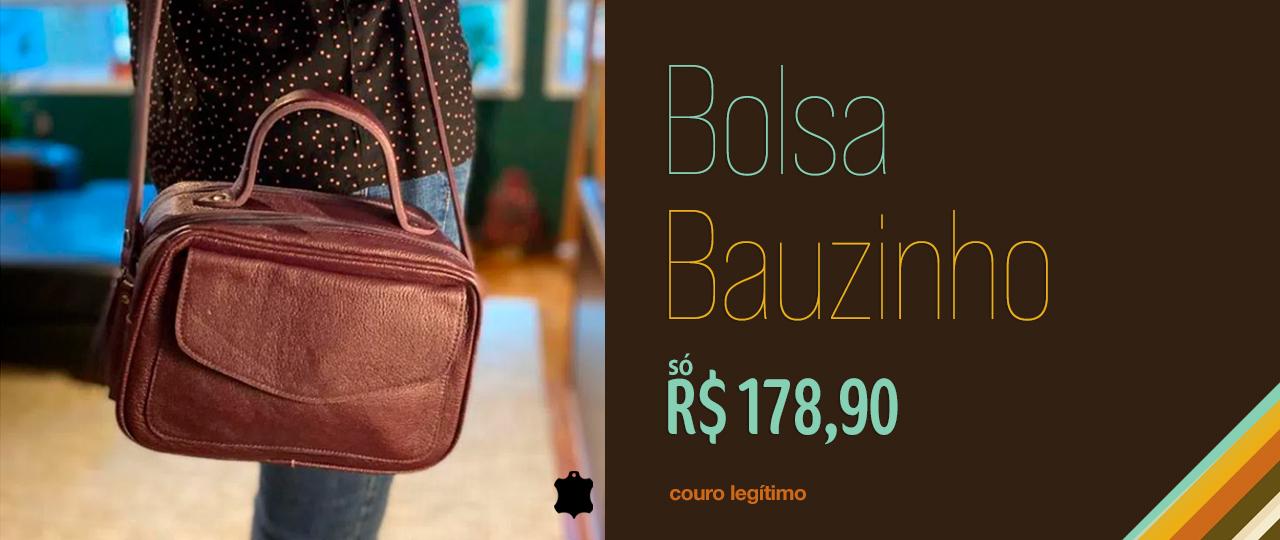 Bolsa de Couro Transversal-200346